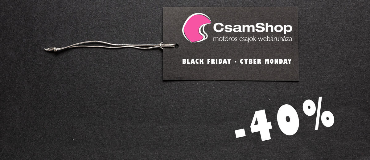 Csajok a motoron Black Friday Cyber Monday