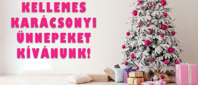 kellemes karácsonyi ünnepeket kívánunk